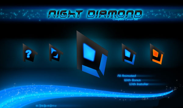 Курсоры для Windows: Night Diamond