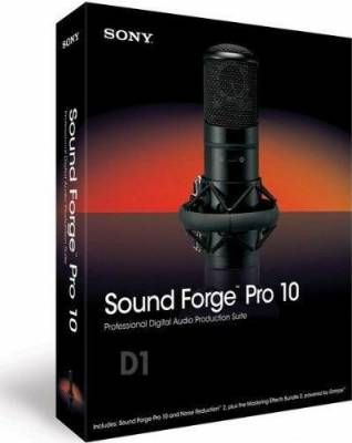 Sony Sound Forge Pro 10.0.368 + Rus